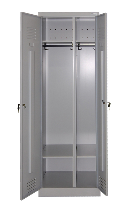 Металлический шкаф ШР 22 с разногабаритными секциями купить недорого в Екатеринбурге