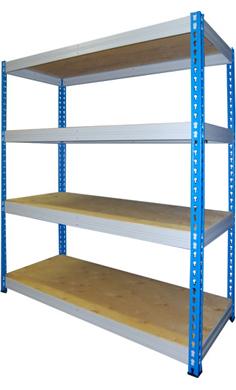 Стеллажи МКФ грузовые металлические для склада купить недорого