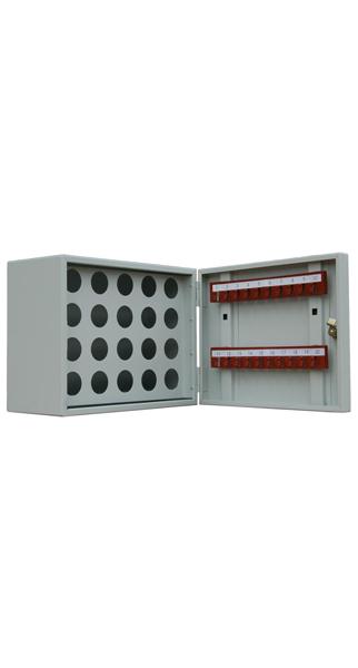 Шкаф для ключей КЛ-20П (20 пеналов, без брелков) купить недорого в Екатеринбурге