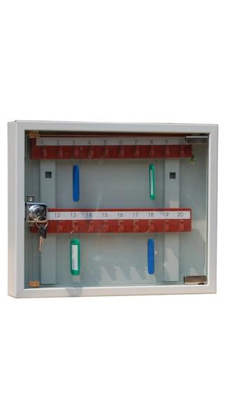 Шкаф для ключей КЛ-20С купить недорого в Екатеринбурге (с брелками)