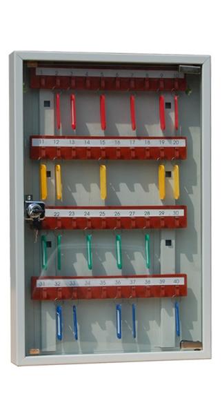 Шкаф для ключей КЛ-40C купить недорого в Екатеринбурге с брелками